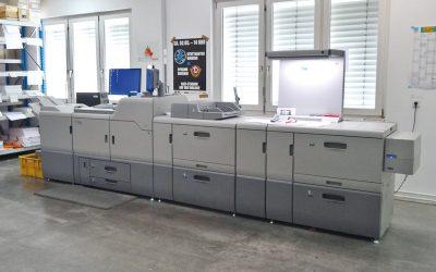 Neue Digitaldruckmaschine
